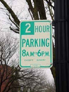 Boston Two Hour Parking