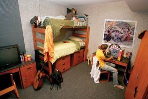 Brookline College Dorm Room