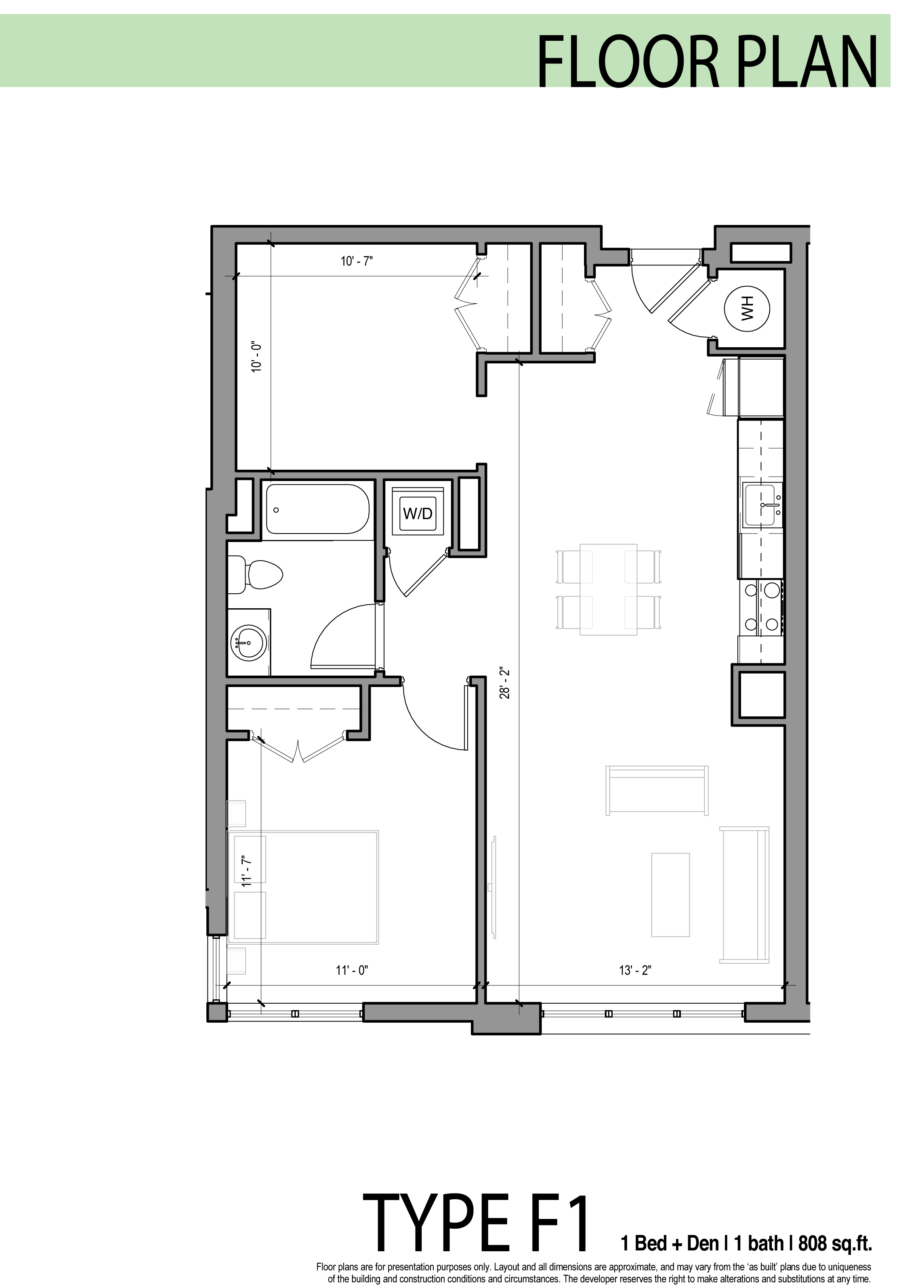 Edge allston floor plans for One bedroom apartment designs plans