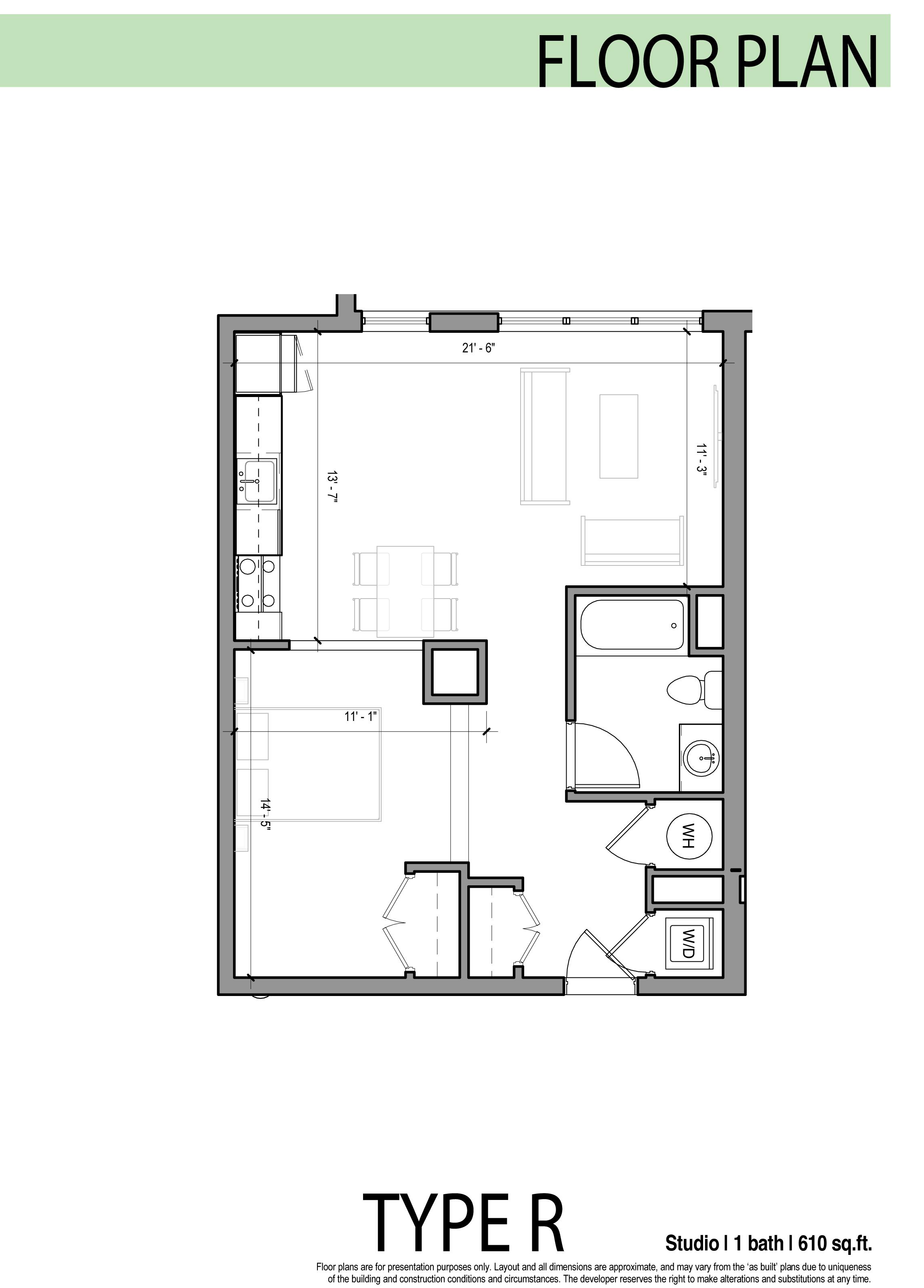 Edge allston floor plans for Single floor plan