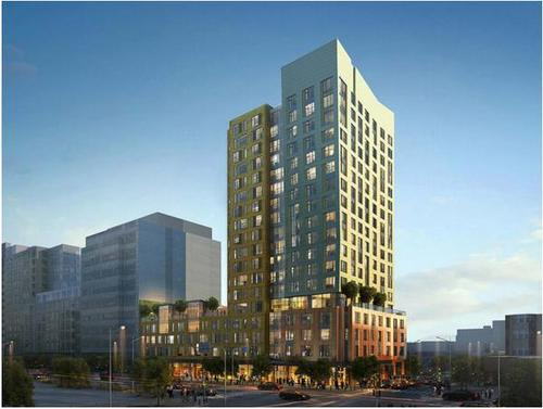 New Fenway Building 1350 Boylston Luxury Apartments